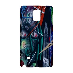 Graffiti Art Urban Design Paint  Samsung Galaxy Note 4 Hardshell Case