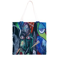 Graffiti Art Urban Design Paint  Grocery Light Tote Bag