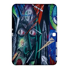 Graffiti Art Urban Design Paint  Samsung Galaxy Tab 4 (10.1 ) Hardshell Case