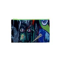 Graffiti Art Urban Design Paint  Cosmetic Bag (XS)