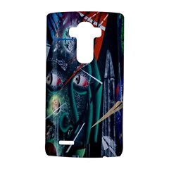 Graffiti Art Urban Design Paint  LG G4 Hardshell Case