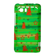 Green Xmas magic HTC Vivid / Raider 4G Hardshell Case