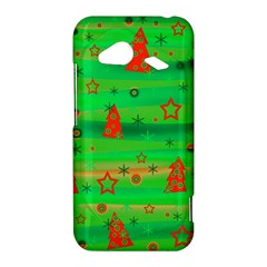 Green Xmas magic HTC Droid Incredible 4G LTE Hardshell Case