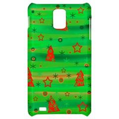 Green Xmas magic Samsung Infuse 4G Hardshell Case
