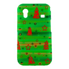 Green Xmas magic Samsung Galaxy Ace S5830 Hardshell Case