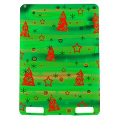 Green Xmas magic Kindle Touch 3G