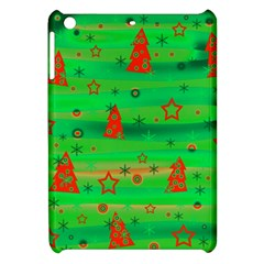 Green Xmas magic Apple iPad Mini Hardshell Case