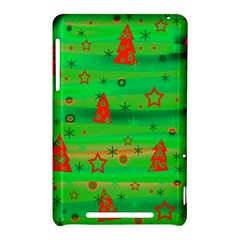 Green Xmas magic Nexus 7 (2012)