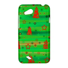 Green Xmas magic HTC Desire VC (T328D) Hardshell Case