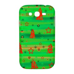 Green Xmas magic Samsung Galaxy Grand DUOS I9082 Hardshell Case