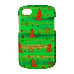 Green Xmas magic BlackBerry Q10