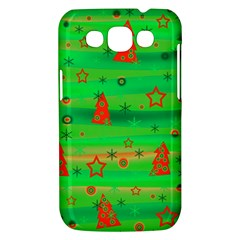 Green Xmas magic Samsung Galaxy Win I8550 Hardshell Case