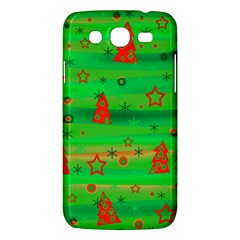Green Xmas magic Samsung Galaxy Mega 5.8 I9152 Hardshell Case