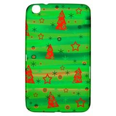 Green Xmas magic Samsung Galaxy Tab 3 (8 ) T3100 Hardshell Case