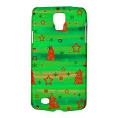 Green Xmas magic Galaxy S4 Active