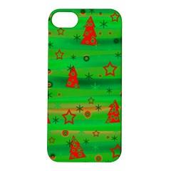 Green Xmas magic Apple iPhone 5S/ SE Hardshell Case