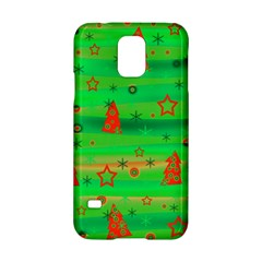 Green Xmas magic Samsung Galaxy S5 Hardshell Case