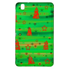 Green Xmas magic Samsung Galaxy Tab Pro 8.4 Hardshell Case