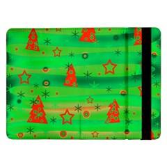 Green Xmas magic Samsung Galaxy Tab Pro 12.2  Flip Case