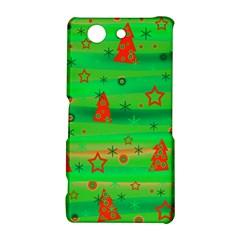 Green Xmas magic Sony Xperia Z3 Compact