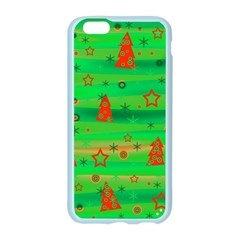 Green Xmas magic Apple Seamless iPhone 6/6S Case (Color)