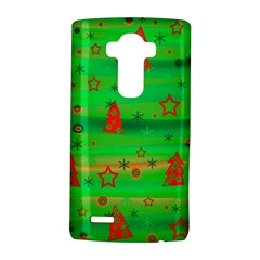 Green Xmas magic LG G4 Hardshell Case