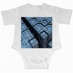 Grid Maths Geometry Design Pattern Infant Creepers