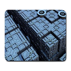 Grid Maths Geometry Design Pattern Large Mousepads