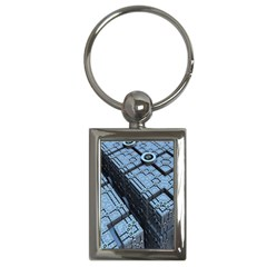 Grid Maths Geometry Design Pattern Key Chains (Rectangle)