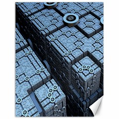 Grid Maths Geometry Design Pattern Canvas 12  x 16