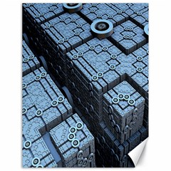 Grid Maths Geometry Design Pattern Canvas 18  x 24