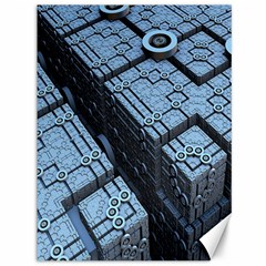 Grid Maths Geometry Design Pattern Canvas 36  x 48