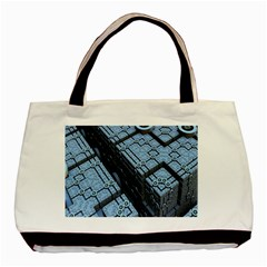 Grid Maths Geometry Design Pattern Basic Tote Bag (Two Sides)