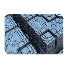 Grid Maths Geometry Design Pattern Plate Mats