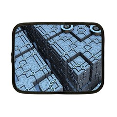 Grid Maths Geometry Design Pattern Netbook Case (Small)