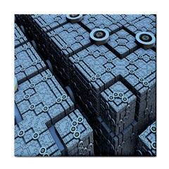 Grid Maths Geometry Design Pattern Face Towel
