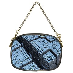 Grid Maths Geometry Design Pattern Chain Purses (Two Sides)