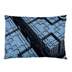 Grid Maths Geometry Design Pattern Pillow Case