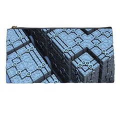 Grid Maths Geometry Design Pattern Pencil Cases