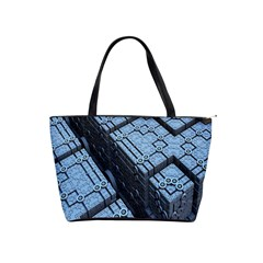 Grid Maths Geometry Design Pattern Shoulder Handbags