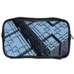 Grid Maths Geometry Design Pattern Toiletries Bags 2-Side