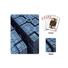 Grid Maths Geometry Design Pattern Playing Cards (Mini)