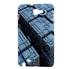 Grid Maths Geometry Design Pattern Samsung Galaxy Note 1 Hardshell Case