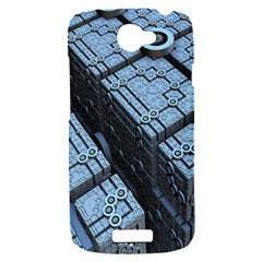 Grid Maths Geometry Design Pattern HTC One S Hardshell Case