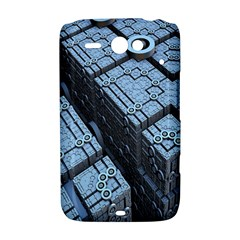 Grid Maths Geometry Design Pattern HTC ChaCha / HTC Status Hardshell Case
