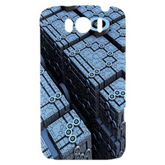 Grid Maths Geometry Design Pattern HTC Sensation XL Hardshell Case