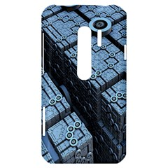 Grid Maths Geometry Design Pattern HTC Evo 3D Hardshell Case