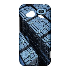 Grid Maths Geometry Design Pattern HTC Droid Incredible 4G LTE Hardshell Case