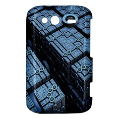 Grid Maths Geometry Design Pattern HTC Wildfire S A510e Hardshell Case