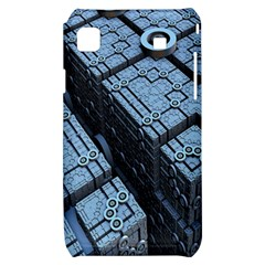 Grid Maths Geometry Design Pattern Samsung Galaxy S i9000 Hardshell Case
